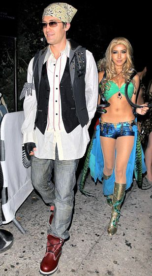 Matthew Morrison and girlfriend as Justin Timberlake and Britney Spears // LOVE this one!