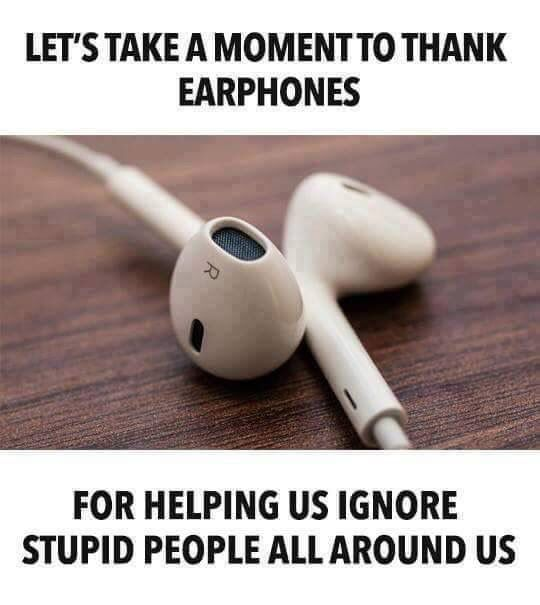 Thanks Earphones Everything Cool And All The Stuff I Love
