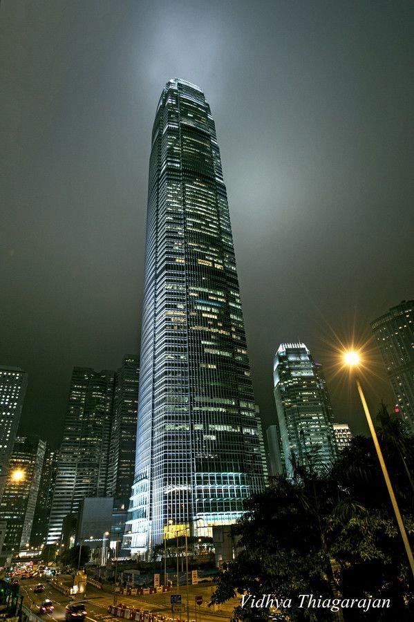 HK IFC Building by Vidhya Thiagarajan, via 500px