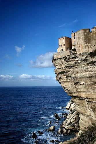 Bonifacio, Corse- Croisière voilier Sud Corse et Nord Sardaigne- Juillet 2011