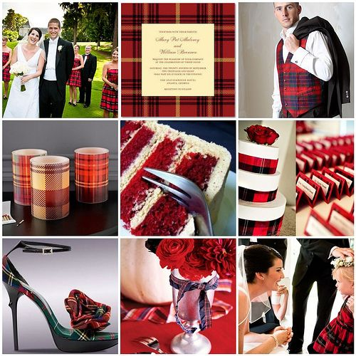 I am pinning this because we can create seating cards with your tartan (and this way I won't forget it... don't have to order them, you can print / make them yourself)