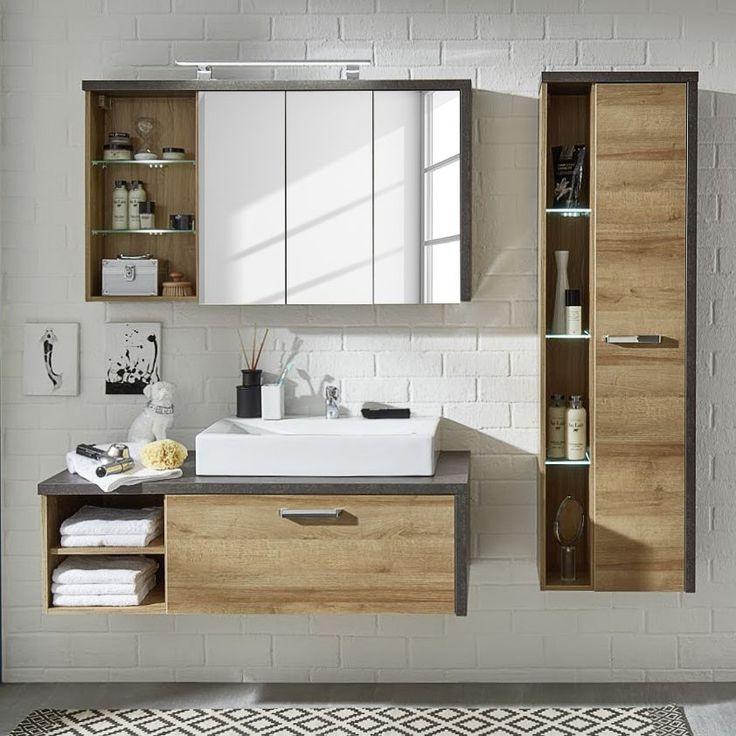 Die besten 25+ Waschbecken im Bad Dekor Ideen auf Pinterest - badezimmerm bel set holz