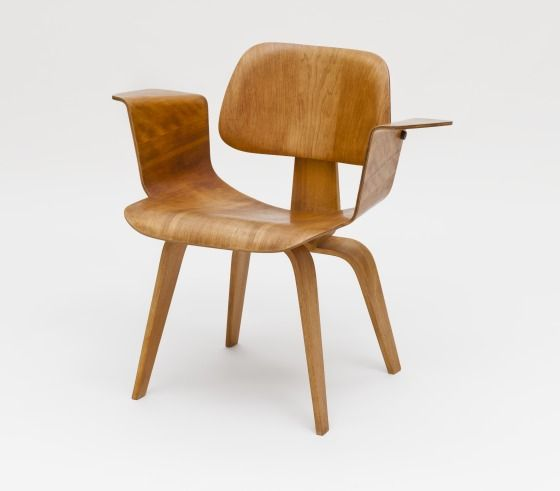 Charles and Ray Eames; Molded Plywood Armchair for Evans products,