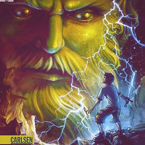Percy Jackson and the Olympians German covers (Lightning Thief)