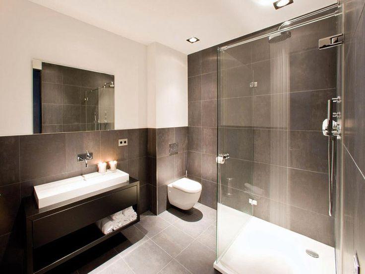 Bruine Badkamer Tegels ~   Badkamer op Pinterest  Blauw bruine badkamer, Badkamer en Tegel