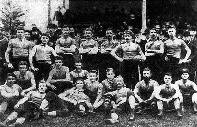 Port adelaides first premiership team 1884