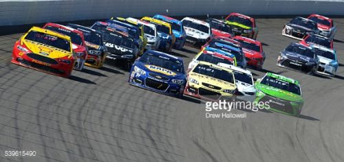 BROOKLYN, MI - JUNE 12: Joey Logano, driver of the #22 Shell... #ayianapa: BROOKLYN, MI - JUNE 12: Joey Logano, driver of the… #ayianapa