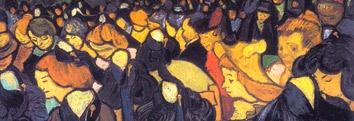 """Exposição """"Impressionismo: Paris e a Modernidade – Obras-Primas do Museu d'Orsay """"   Local: Centro Cultural Banco do Brasil de São Paulo  Dia: 25.09.2012 Motivos para não esquecer jamais: as obras clássicas (só vistas em livros) de Edgar Degas, Edouard Manet, Henri Toulosse-Lautrec (meu amado, Toulousse!), Paul Cézanne, Paul Gauguin, Pierre-Auguste Renoir e Vincent Van Gogh, entre outros mestres, e a descoberta de obras e artistas desconhecidos por mim, mas igualmente impactantes."""