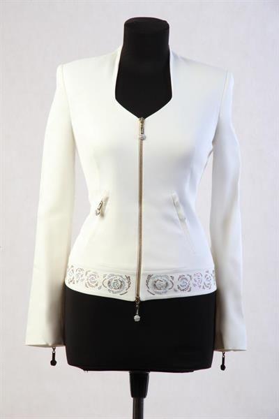 Белый пиджак женский брендовый купить