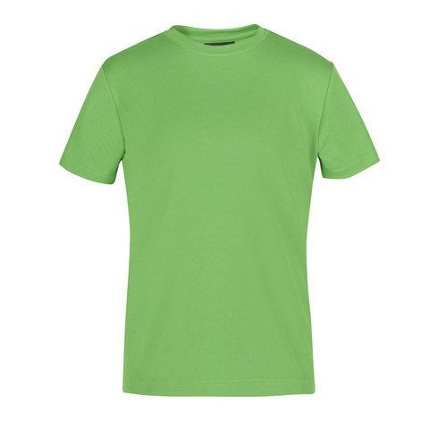 Where to buy quick drying, plain coloured sports tee for kids online. Great for sports, uniforms, teams. Easy care, moisture wicking fabric to keep you cool & dry. Size 4 - 14
