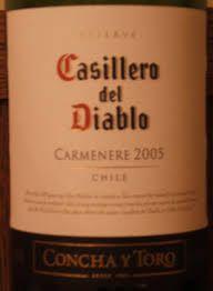 Resultado de imagen para vino carmenere chileno