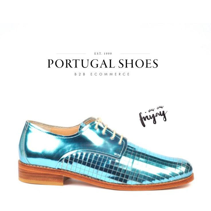 Happy Friday! ✌ Lace-ups shoes from Paulo Renato collection: http://bit.ly/1p3DfeX