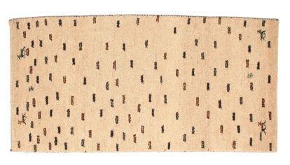Gabbeh Indiaas tapijt 68x144