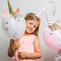 Einhorn Luftballon Set. Unicorn Balloon set from Meri Meri.