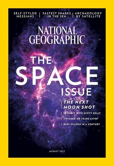 National Geographic August 2017 USA Edition