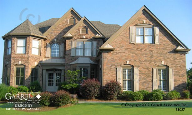 Front Elevation Basements : Best traditional house plans images on pinterest