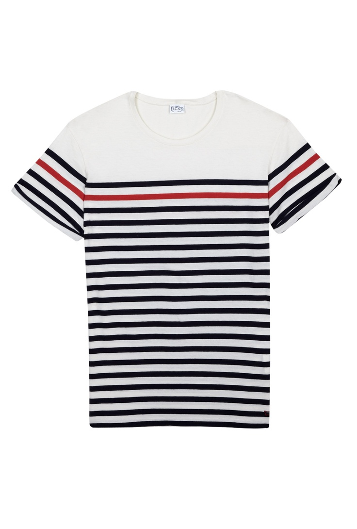 Spring is on its way. Levi's breton t-shirt
