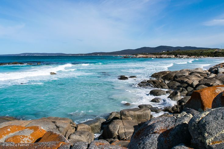 The Bay of Fires on the East Coast of Tasmania.  Click the image above for more information on this spectacular stretch of coastline.