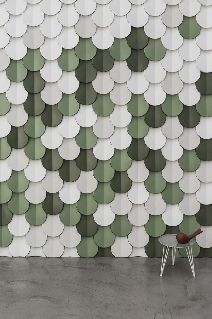 Kirei echopanel geometric tiles building for health - Kaza Concrete Is Beton In Haar Meest Elegante Vorm Deze 3d Wanddecoraties Zijn De
