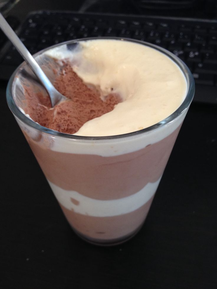 Chocolate mousse. Mmmmm
