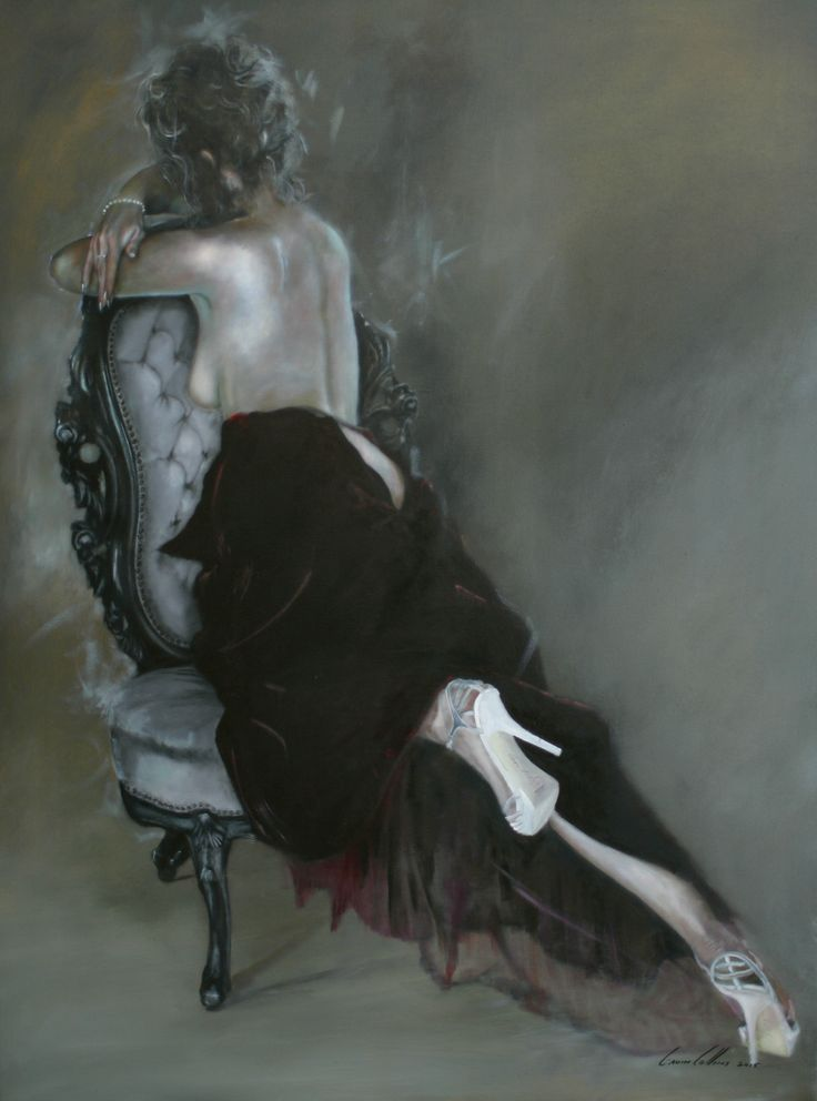 Gavin Collins oil on linen figurative works