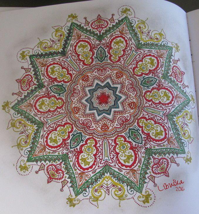 Het Enige Echte Mandala Kleurboek Deel 1 Stabilo 88 Hema Fineliners Bruynzeel