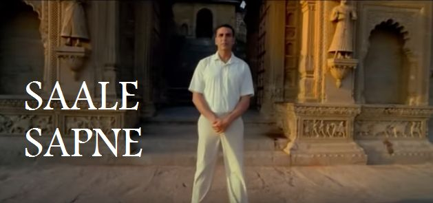 Saale Sapne is the new track sung by Mohit Chauhan while the lyrics are from Kausar Munir.