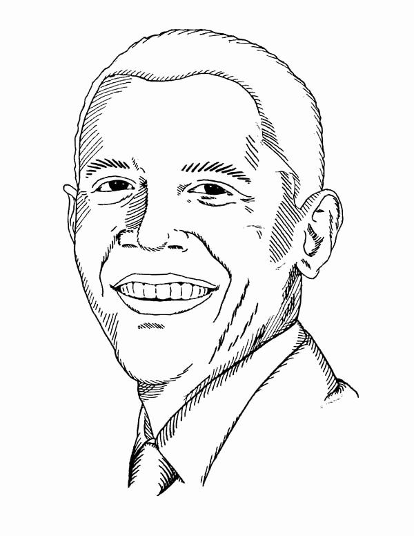 Barack Obama Coloring Page New Barack Obama Coloring Pages Best