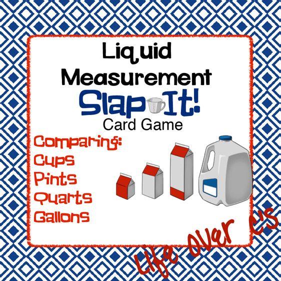 22 best liquid measurement activities images on Pinterest - liquid measurements chart