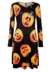 SHARE & Get it FREE | Pumpkin Print Long Sleeve Halloween DressFor Fashion Lovers only:80,000+ Items • New Arrivals Daily • Affordable Casual to Chic for Every Occasion Join Sammydress: Get YOUR $50 NOW!