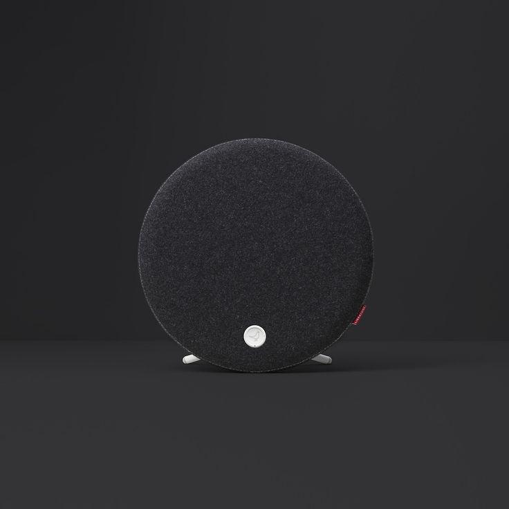 Libratone Loop Libratone Loop #black #cashmere #airplay #streaming #wireless #audio #allgoodthings #danishdesign #danish