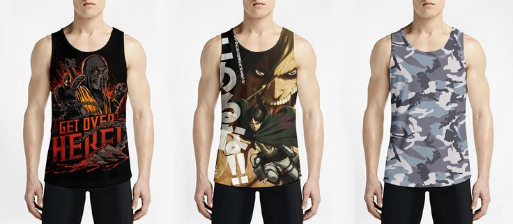 Sizzling & Cool Men's T-shirt And Tank Tops Designs from OSOMWEAR