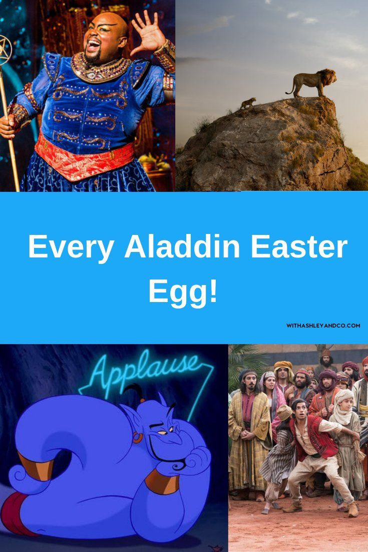 All The Aladdin Easter Eggs You May Have Missed Aladdin