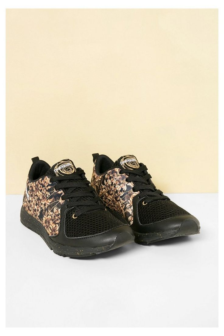 Scarpe da ginnastica nere e dorate   Desigual.com 2000