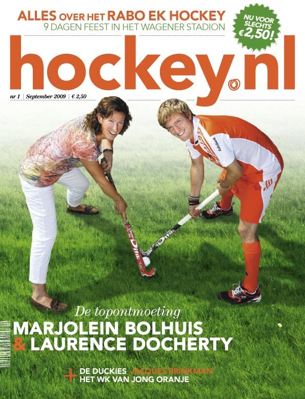 Marjolein Bolhuis ontmoet Laurence Doocherty in 'De Topontmoeting'.