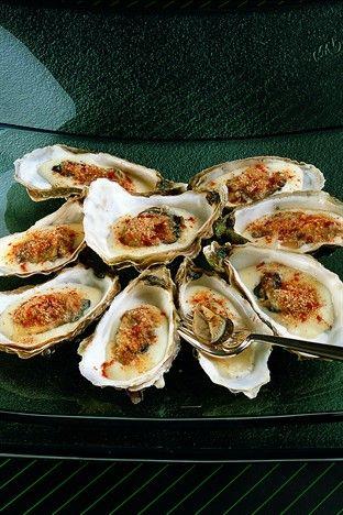Huîtres à la diable - Larousse Cuisine