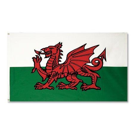 Bandera de Gales - grande 90x150 cm #gales #wales