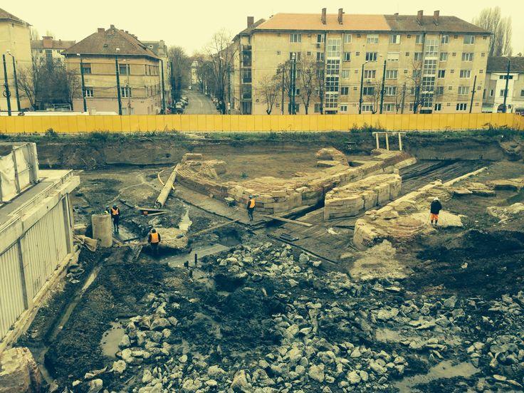 """Proiectul """"Ecluza habsburgica"""" a Timişoarei este in plina desfasurare, dupa cum stiti, in timpul lucrarilor pentru noul corp al City Business Center."""