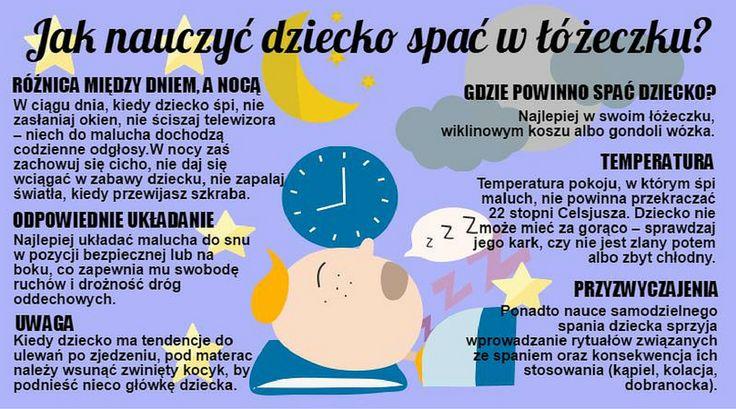 infografika sen dziecka / wp parenting