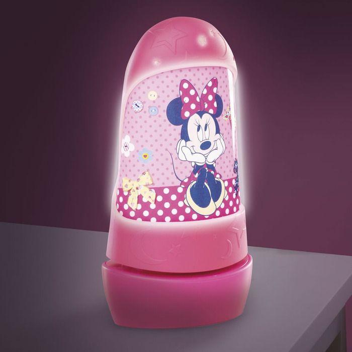 Minnie Mouse Go Glow Night Light - New