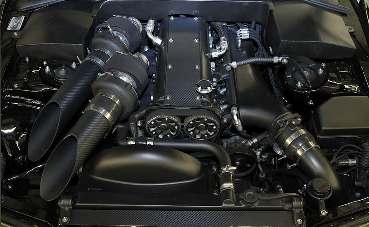 Best looking Supra motor yet! Makes 1424 whp #toyota