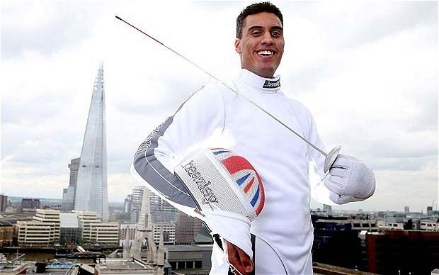 London 2012 Olympics: Team GB's James Davis finds his cutting edge in fencing arena