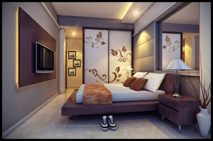 These are some unique bedroom walls, and possibly some inspirations for your home.