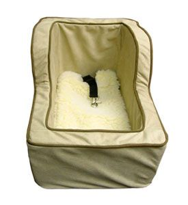 Dog Car Booster Seat- Lookout Dog Car Seat, Car Seat Dogs, Pet Car Seat, Doggie Car Seat, Car Seat For Dogs, Puppy Car Seats