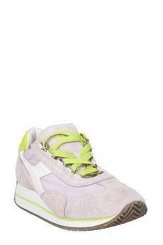 #scarpa #Didora in tela canvas e pelle scamosciata #shoes #SS2015 #moda #donna #woman #fashion #bforeshop  #sneakers #diadorashoes #streetstyle #urbanstyle