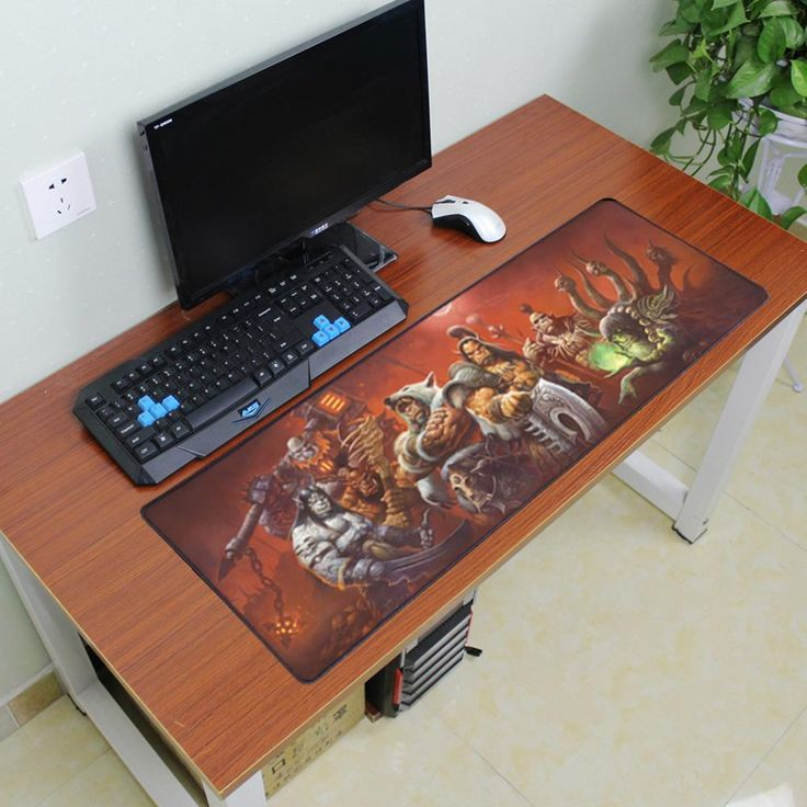 [Visit to Buy] 900x300mm World of Warcraft gaming mouse pad locking edge mouse pad non-slip mousepad laptop mat for lol overwatch game players #Advertisement