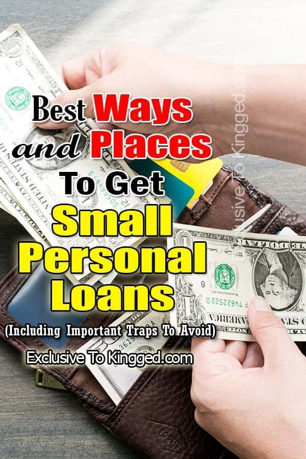 10 Best Places For Small Personal Loans Including Important Traps To Avoid Personal Loans Personal Loans Online Loan