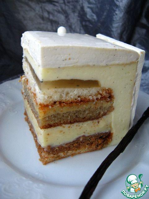 """Ангельский торт """"v8"""" по рецепту Адриано Зумбо.  Adriano Zumbo"""