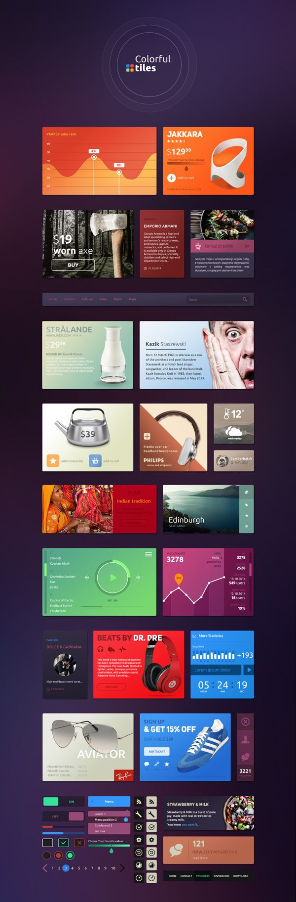Check out the featured freebie of the day, a vibrant, eye-catching UI kit that you can use freely to create your...