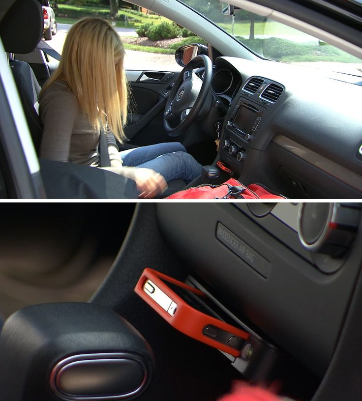 Stop distracted driving. This device disables the car from starting if a phone isn't plugged in.